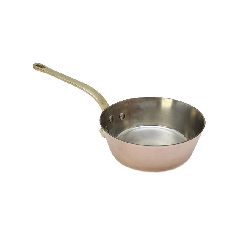 銅の片手鍋 ソテーパン ソースパン