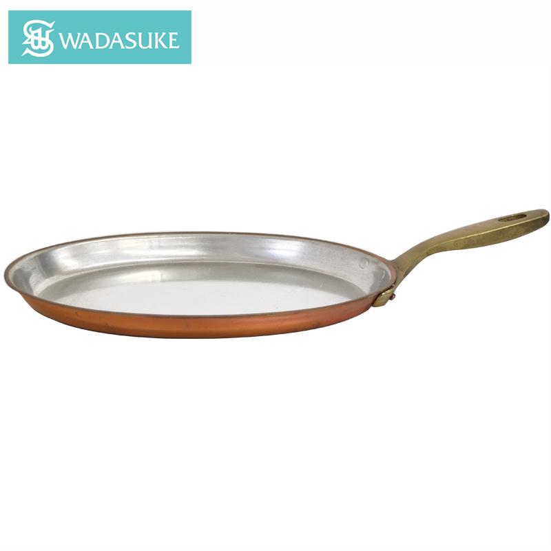 銅のフライパン オムレツパン