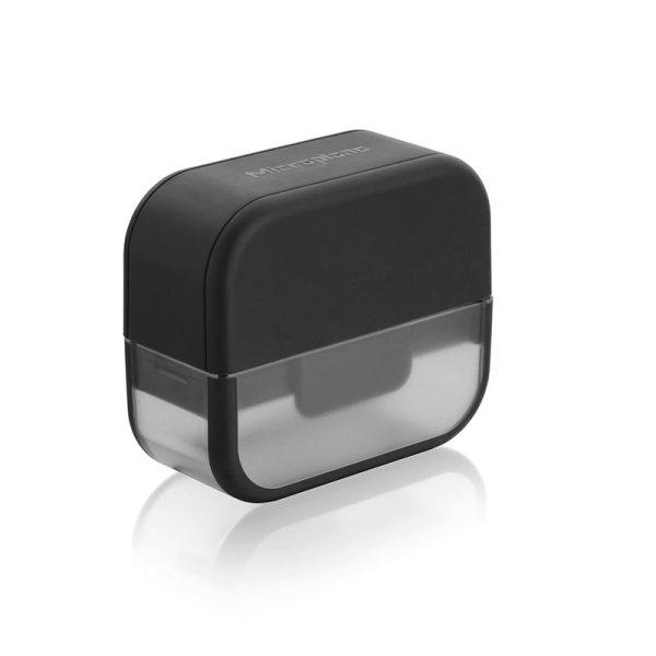 画像1: Microplane マイクロプレイン ガーリックカッター&スライサーセット 48148 ブラック (1)