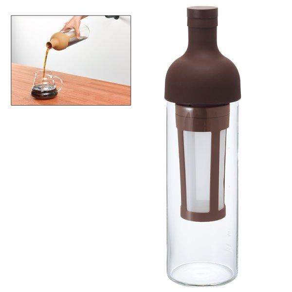 画像1: 【SALE12】 ハリオ フィルターインコーヒーボトル  ショコラブラウン (1)