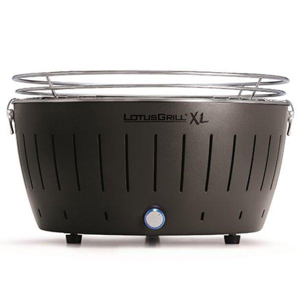 画像1: ロータスグリル XL グレー お試し炭・USB電源ケーブル付 (G-AN-435PNC2) IKESHO特典 専用グリルマット付き (1)