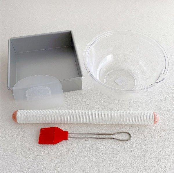 画像1: 【レシピ動画付き】初めてのパン作り道具セット (1)