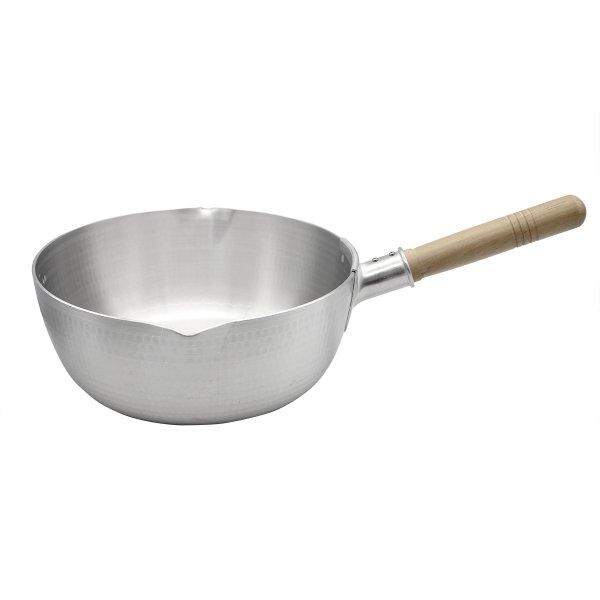 画像1: 【SALE11】 日本製 雪平鍋(並) 27cm  [アルミ打出し] (1)