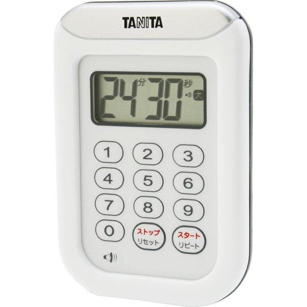 画像1: TANITA タニタ 丸洗いタイマー 100分計 (1)